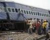 Два поезда столкнулись в Барселоне