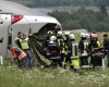 В аварии с туристическим автобусом пострадало 56 человек