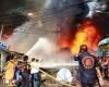 200 туристов едва не сгорели при пожаре поезда в Таиланде