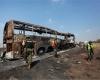Жуткая авария привела к гибели 36 туристов