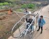 Китайский фермер сконструировал самодельный вертолет из обломков металла