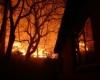 Мпумалангу охватил пожар