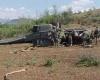 В Японии разбился военный вертолет США