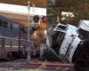 Водитель-наркоман врезался в поезд