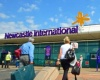Эмираты встречают миллионного пассажира из Ньюкасла