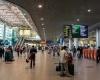 В аэропорту Домодедово образовалась пробка