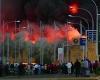Крупный пожар охватил аэропорт Найроби