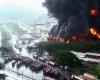 Сильный пожар произошел на НПЗ в Венесуэле