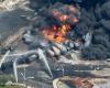Крушение поезда с нефтью в городе Квебек. Есть пострадавшие.