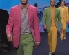 Пиджаки и рубашки с кусочками бананов – неделя моды в Милане
