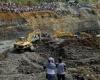 Колумбия: обвал золотого рудника