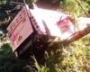 На Филиппинах автобус сорвался в пропасть