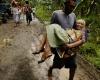Срочная эвакуация на Филиппинах