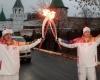 Девочка получила ожоги при взрыве факела олимпийского огня