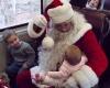 Специальный рождественский поезд с Санта Клаусом в Нью-Джерси