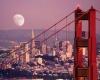 Сан-Франциско в США - красивейший город, окруженный водой
