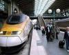 Поезд Лондон-Париж - самый предпочитаемый вид транспорта